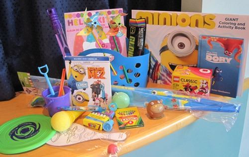 Sample Children's Prize Pack