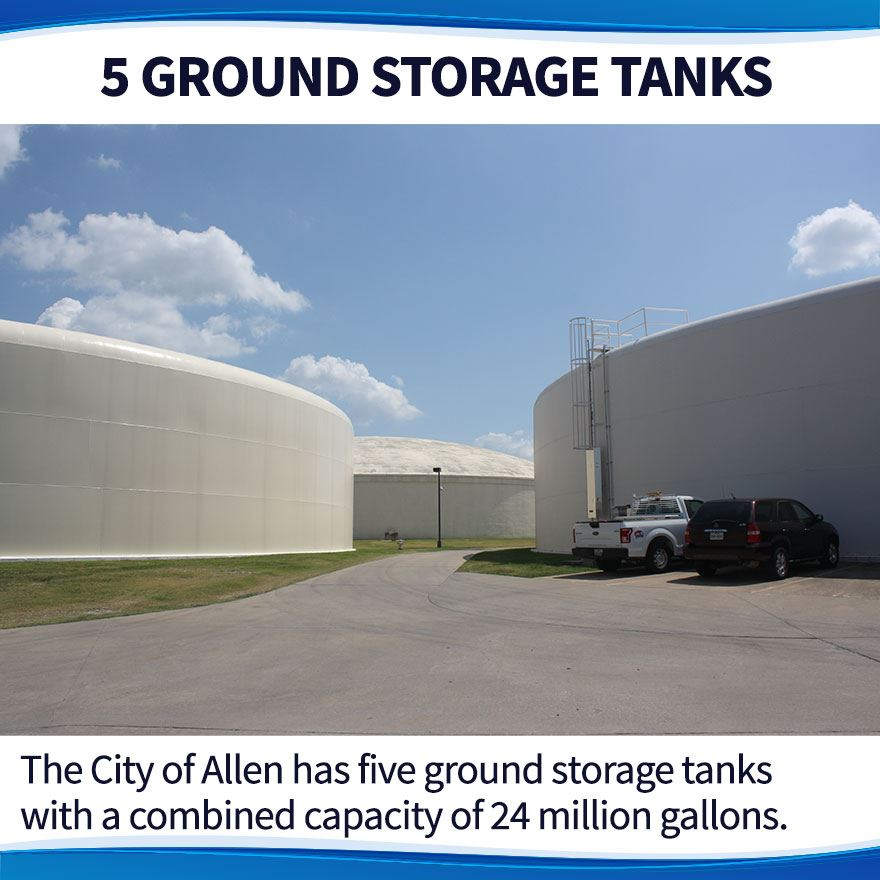 water ground storage tanks