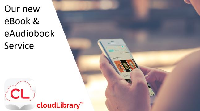 CloudLibrary, our new eBook and eAudiobook service.