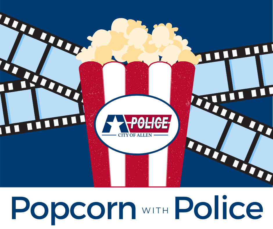 Popcorn with Police graphic