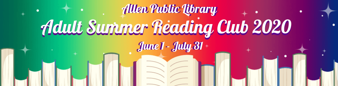 Image: 2020 Adult Summer Reading Banner