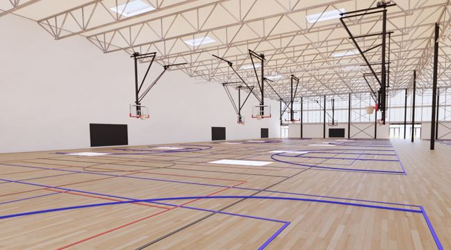 picture of basketball courts