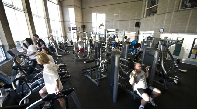 picture of joe farmer recreation center fitness room