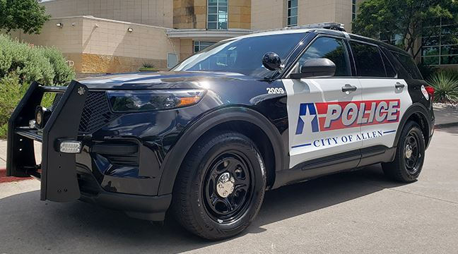 Allen Police hybrid vehicle