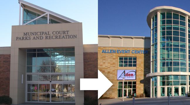 Polling location has changed from Allen Municipal Court to Allen Event Center