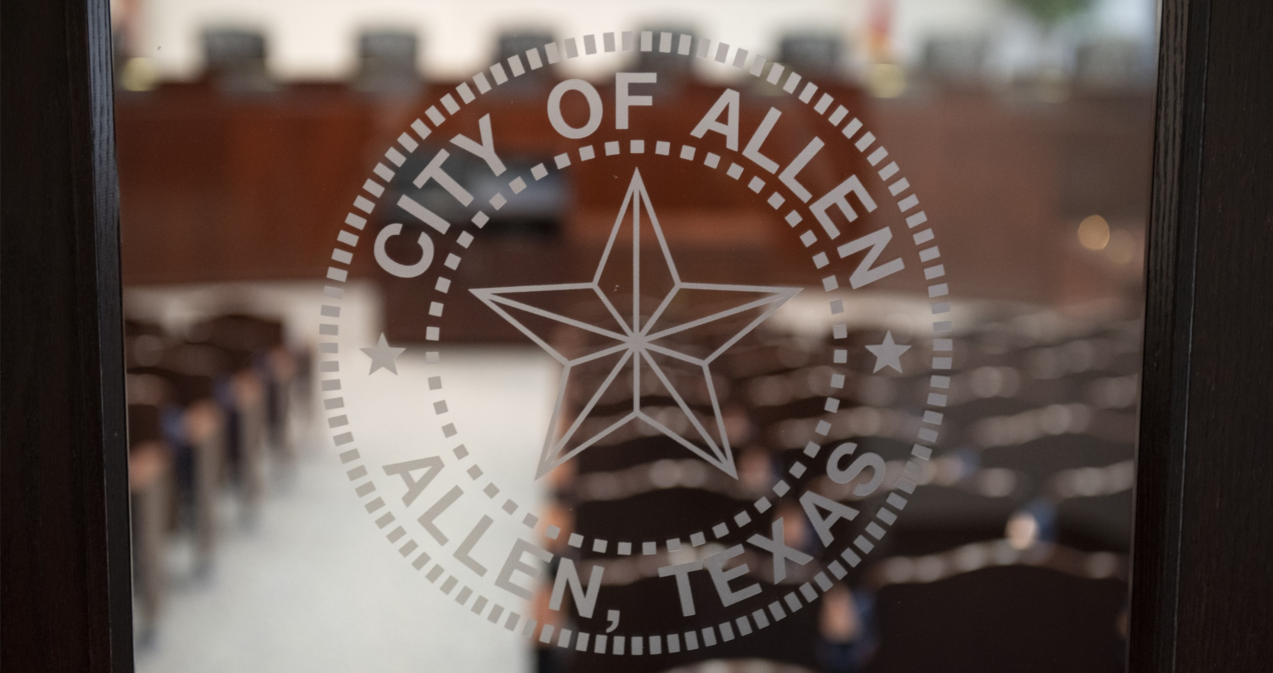 Allen City Council Chambers