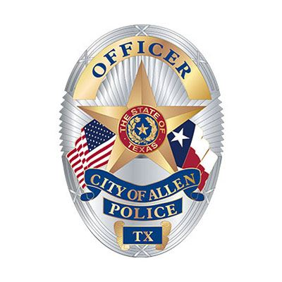 City of Allen Police Officer badge