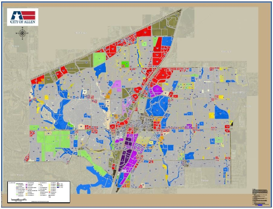 Planning Regulations & Maps | Allen, TX - Official Website on map of allen ok, map of frisco, map of east texas tyler, map of carlsbad ca, map of allen outlet, map of buckhead atlanta ga, map of allen texas area, map of allen texas zip code, map of fayetteville ar, map texas tx, map of greeley co, map of plano, map of bridgewater nj, map of broken arrow ok, map of las cruces nm, map of leawood ks, map of sterling va, map of allen parkway houston,
