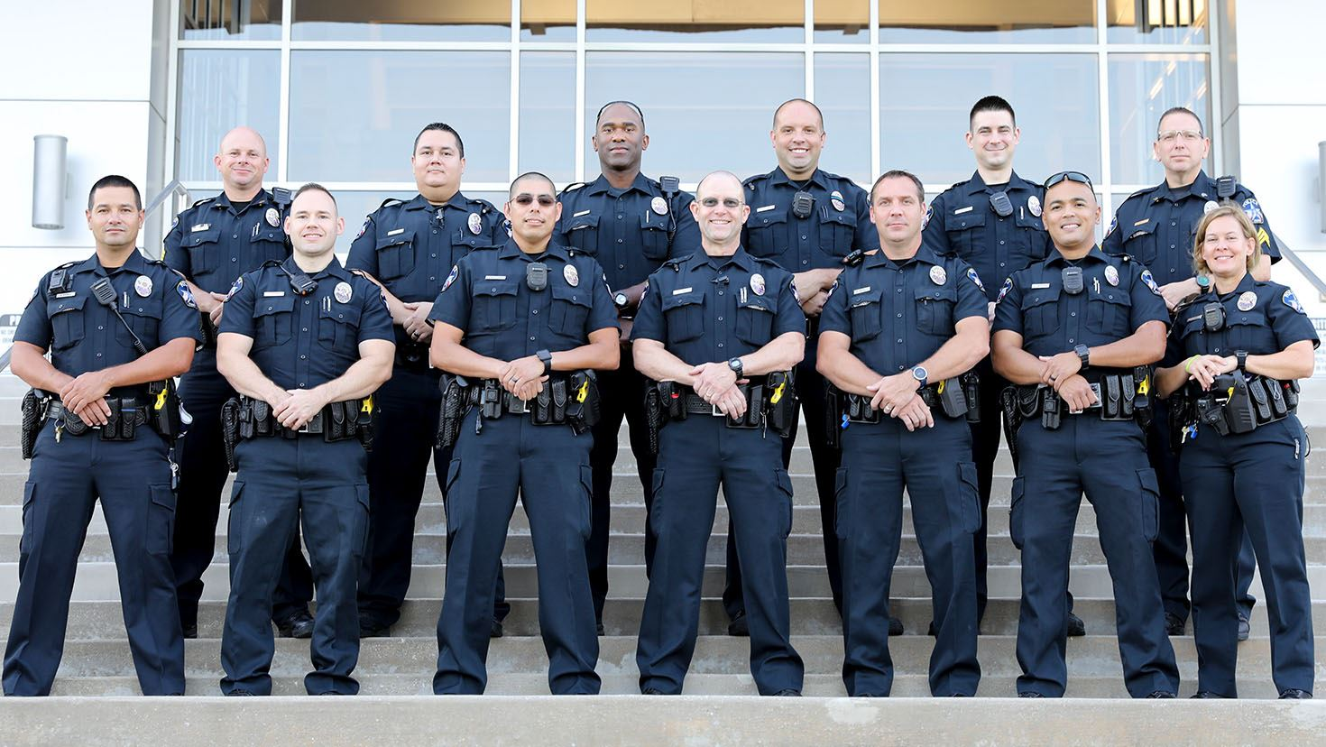 APD School Resource Officer Unit pictured as a group
