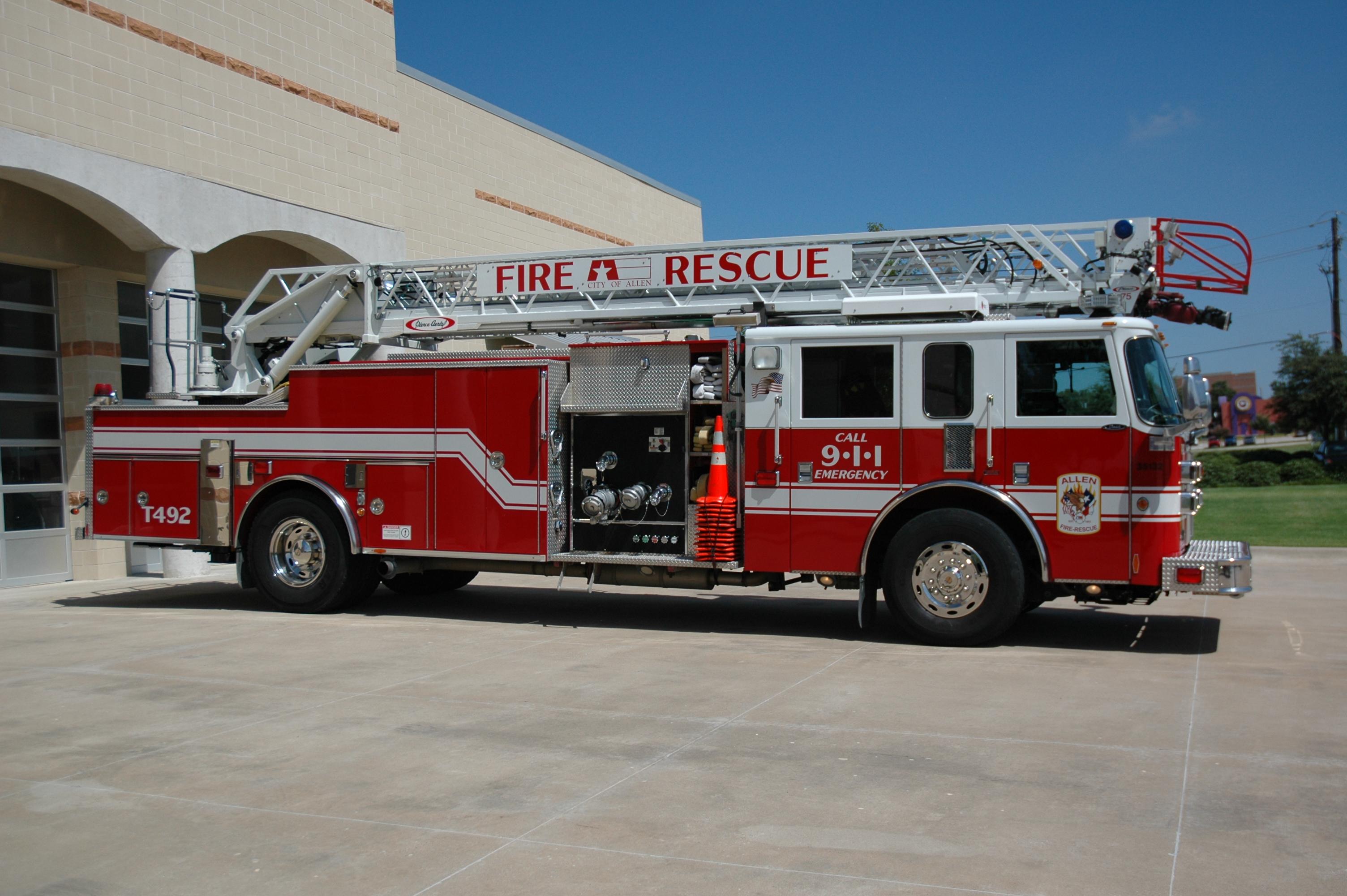 City of Allen Fire Truck