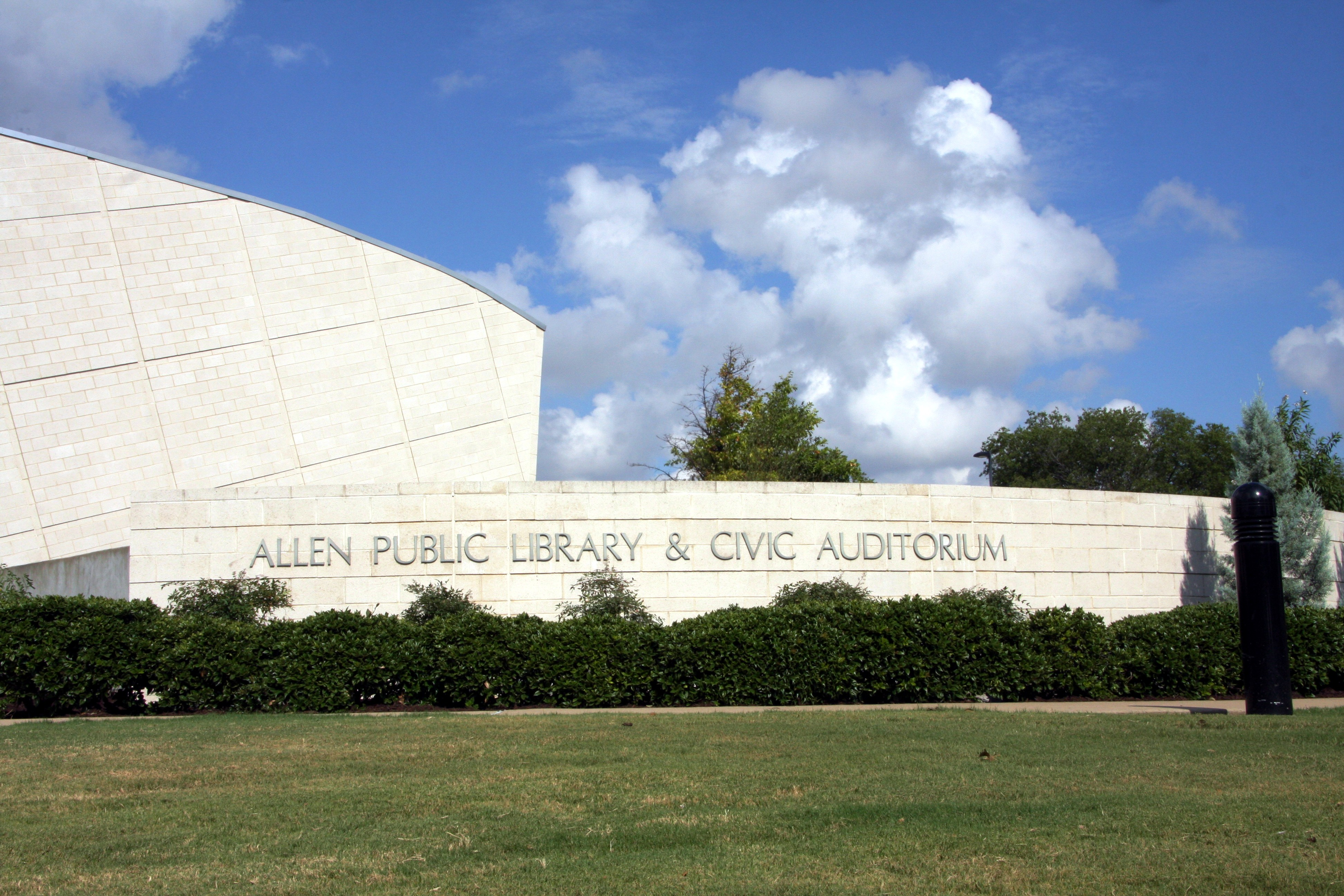 Civic Auditorium at Allen Public Library