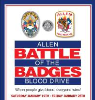 Battle of the Badges Blood Drive