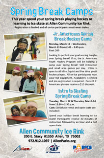 ACIR Spring Break Camps