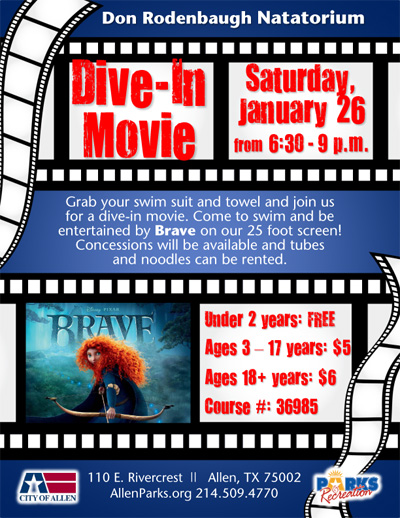 Dive-In Movie 1.26.13