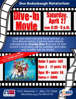 Dive-In Movie Scooby-Doo 2 - April 27