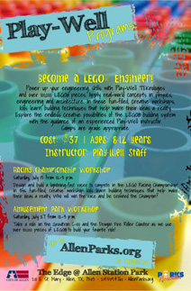 LEGO Racing Championship Workshop