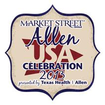 Market Street Allen USA Celebration 2013 presented by Texas Health Allen