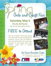Spring Arts and Craft Fair