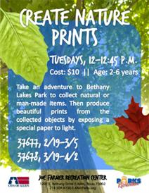 Create Nature Prints