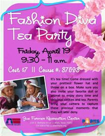 Fashion Diva Tea Party - April 18