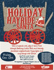 Holiday Hayride with Santa