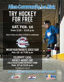 Try Hockey For Free - February 16