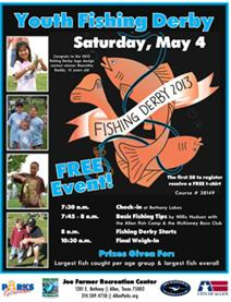Youth Fishing Derby - May 4