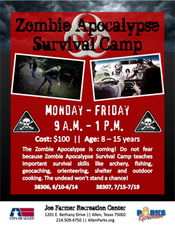 Zombie Apocalypse Survival Camp