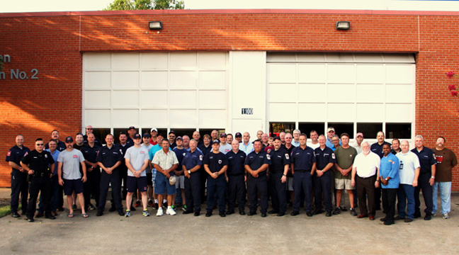 Fire Station 2 Firefighters Gather for Final Photo