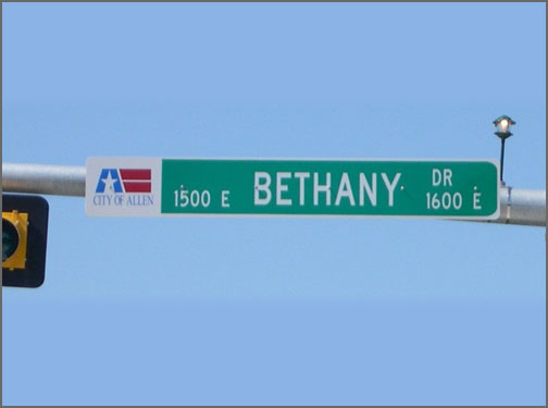 15-inch Overhead Street Name Blades
