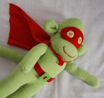 Superhero stuffie