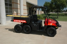 Polaris Emergency Utility Vehicle